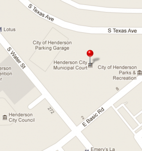 Hednerson Detention Center Location